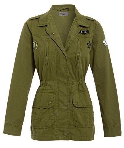 SS7 femmes toile coton veste , kaki, taille 8 pour d'occasion  Livré partout en Belgique