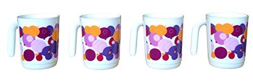 Tupperware Illumina Mug  Set of 4  350 ML