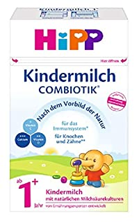 HiPP Kindermilch Combiotik, ab 1+ Jahr, 4er Pack (4 x 600 g) (B004X0XAFK) | Amazon Products