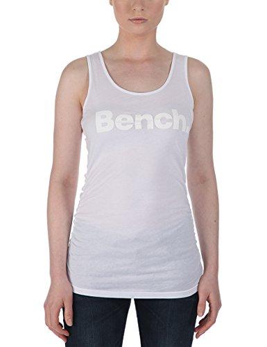 Bench - Tank Top Veststarii, Camicia di maternità Donna, Bianco (Brightwhite), X-Large (Taglia Produttore: X-Large)