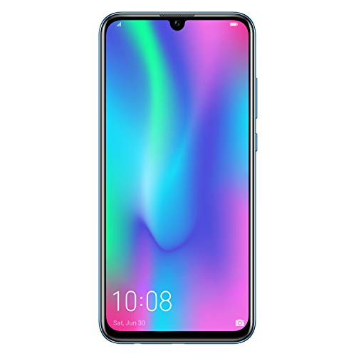 "Honor 10 Lite Smartphone, 6,21 Screen ""FHD +, 3 GB RAM, Dual Camera 13 and 2 MP, 64 GB, Sky Blue [Italy]"