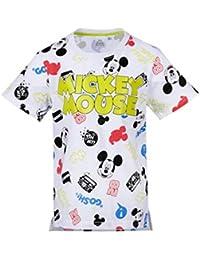 52cf76e87d Mickey Mouse - Camiseta de Manga Corta - Manga Corta - para niño