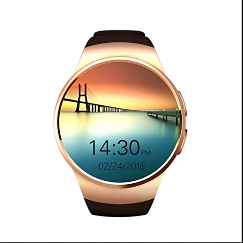 Fitness Tracker Sportuhr,Smartwatch Herzfrequenz Phone Full Screen Unterstützung SIM/TF Karte Schlafanalyse fitness uhr Fernkamera für Apple IOS Android
