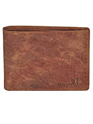 Second SKIN Camel Coloured Genuine Leather Made Wallet For Mens
