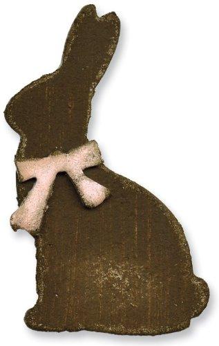 apers Mini Bunny und Schleife Magnetverschluss und sterben Set, 2Stück (Einzigartige Halloween-kunst Und Handwerk)