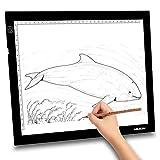 """Huion 23.5 """"Super Sottile LED Tavolette Disegno Tavoletta Luminosa Tavolo Luminoso Drawing Board Light Pad Tracing Box con il Supporto Multifunzione, Bordo Disegnare Clip , 6PCS di Carta da Lucido (A3 Holder)"""