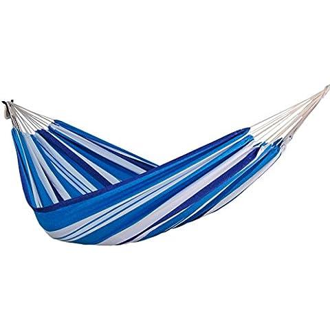 zoophyter King tamaño hamaca, algodón de alta calidad. Perfecto para parque, Patio, porche, dormitorio, interior y
