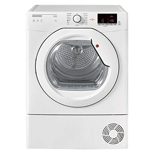 HLC8DCG 8kg Condenser Tumble Dryer - White