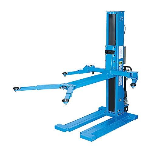 Hebebühne 1-Säulen hydraulisch extra flach 2,5 t, 400 V, H: 2,60 m RP-EA-700E