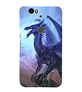 iFasho Designer Back Case Cover for Huawei Nexus 6P :: Huawei Google Nexus 6P (Dragon Addis Ababa Ethopia Morena)