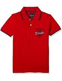 Cherokee Boys' Plain Regular Fit T-Shirt