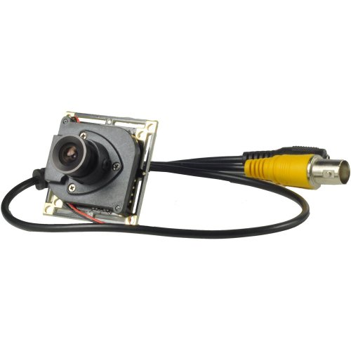 3,6mm Objektiv Spy Board Mini Weitwinkel Kamera Pinhole Kamera 1000TVL CMOS mit IR-Cut CCTV versteckte CCTV Sicherheit Kamera (Mini-board-kamera)