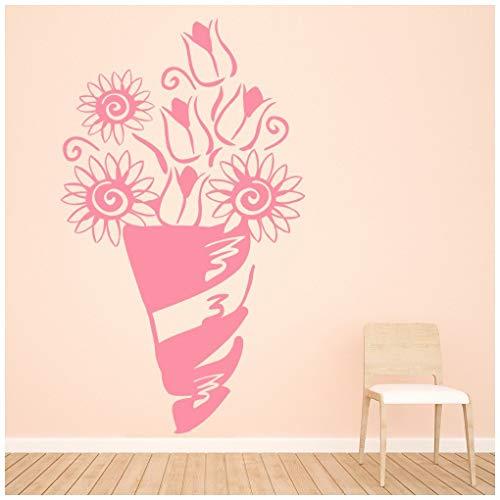 Daisy-04-farbe (azutura Blumenstrauß Tulpen Daisys Blumen und Bäume Wandtattos Heim Kunstabziehbilder verfügbar in 5 Größen und 25 Farben Groß Moos Grün)