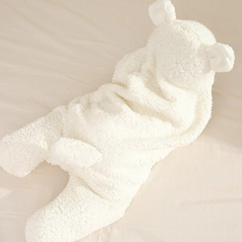 Für 0–12Monate Baby schlafen Taschen, woopower Neugeborene sub-leg Warm Samt Plüsch Wickeltücher Schlafsack Decke SWADDLE