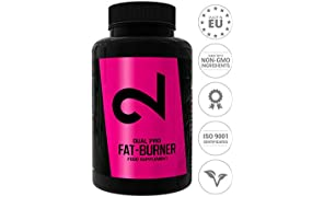 Dual Pro Fat-Burner | Fatburner Pills for Men and Women | 100 Vegan Caps | Weight Loss Without Sports | Natural Appetite Suppressant | Extremely Strong Natural Dietary Supplement | Without Additives