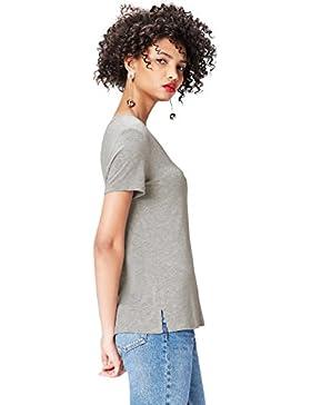 FIND Camiseta de Pico para Mujer