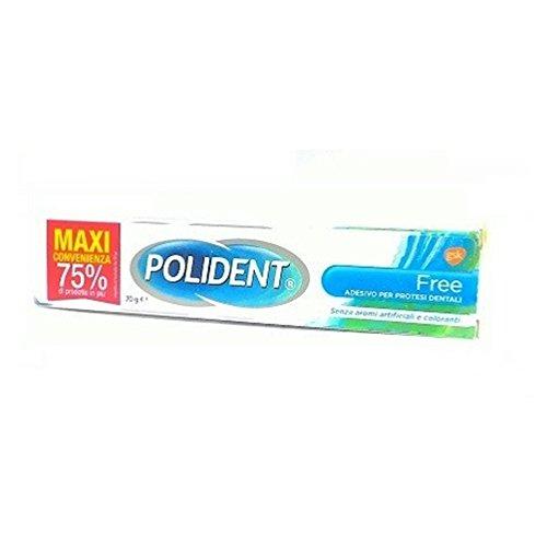 Polident Free Crema Adesiva Per Protesi Dentali 70 gr
