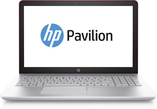 """HP Pavilion 15-cc015ng 2.50GHz i5-7200U 15.6"""" 1920 x 1080Pixel Argento, Rosso Computer portatile"""