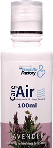 FOR AIR PURIFIERS - CareforAir Lavender Essence 100mL -Sweet Floral Scent -Relaxing And Refreshing -Good For Calming Anger and Nervousness - Good For Repelling Pests - USE IN REVITALIZERS, IONIZERS, HUMIDIFIERS - 100% Product Satisfaction Guarantee