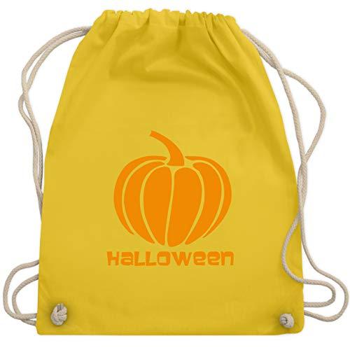 (Halloween - Kürbis - Unisize - Gelb - WM110 - Turnbeutel & Gym Bag)