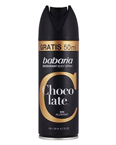 Babaria Chocolate, Desodorante - 6 200 ml. Total 1200