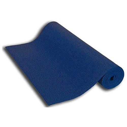Tamak Rubber Anti Skid Exercise & Yoga Mat 4mm (large_1_Blue)