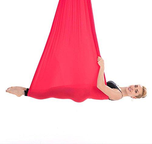 QAZSE Schwerkraft Stretch Aerial Yoga Hängematte,Style-Size,500CM*280CM-F F/ Scrim