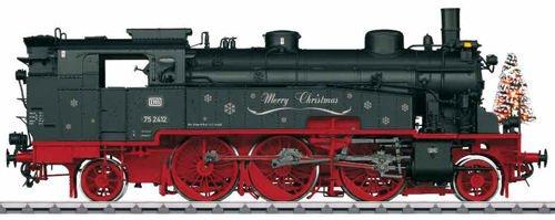 Märklin Weihnachts-Dampflok BR 75.4 DB