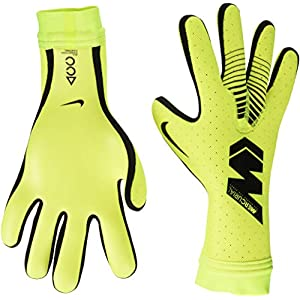 Nike Mercurial Touch Elite PRO Glove, Unisex Football - Adult, Yellow / Black, 10