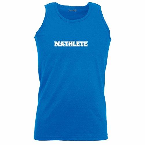Brand88 - Mathlete, Unisex Athletic Weste Koenigsblau