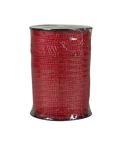 horizont Weidezaunband Rub TLD 12,5mm: Zaunband rot 200m Promod, für unterschiedliche Zäune als Zaunelement geeignet Qualität - für Weidezaun, Elektrozaun, Stromzaun - Pferd Elektrischer Zaun
