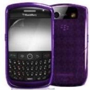 iSkin vibes FX Schutzhülle lila für Blackberry Curve 8900 Iskin Vibes Für Blackberry