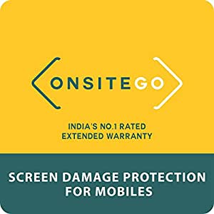 OnsiteGo 1 Year Comprehensive Screen Protection for Smartphones from Rs. 5001 to Rs. 10000