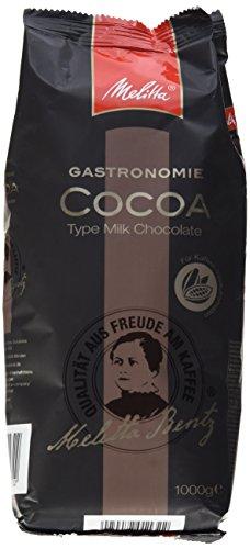 Melitta Kakao für Kaffee-Vollautomaten, Zubereitung mit Wasser oder Milch, Glutenfrei, 1 kg