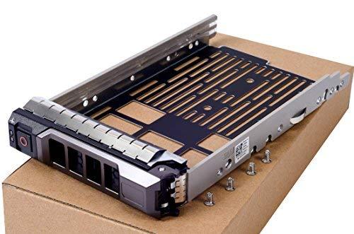 New 8,9cm SAS SATA Festplatte Tray Caddy Ersatz für Dell PowerEdge T330T430T630R230R330R430R530R630R730R730X D R930Serie, kompatible Teilenummer kg1ch 0kg1ch -