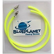 Blue Planet Fancy Dress ® Neon Bright Hoop Earrings 1980s 80s Fancy Dress Jewellery