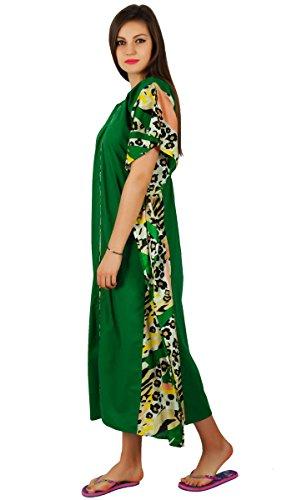 Bimba -  Vestito  - Maniche corte - Donna Verde