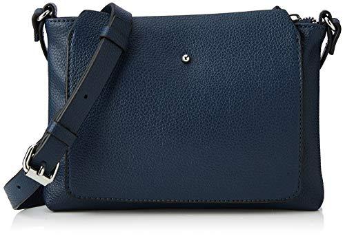 edc by Esprit Accessoires 128ca1o003, Sacs portés épaule femme, Bleu (Navy), 2x16x21,5 cm (B x H T)