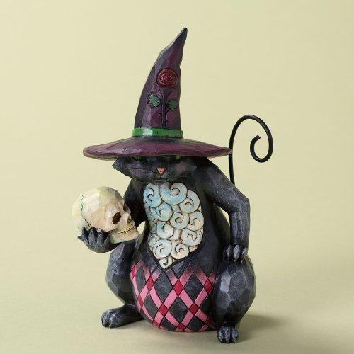 Enesco 4027796 Jim Shore Heartwood Creek Pint Sized Halloween Cat Figurine, (Halloween Jim Shore)
