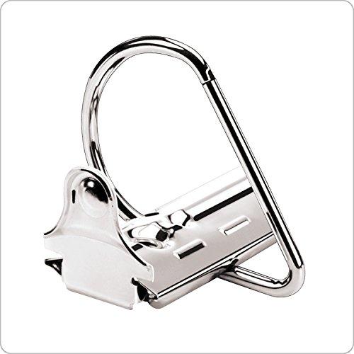 Kardinal von Tops Produkte expressload Clearvue Locking D-Ring Binder 10,2 cm schwarz