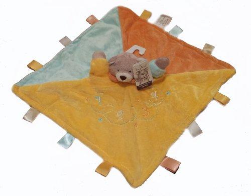 Baby-Veloursdecke mit Schlaufen, Teddybär-Design