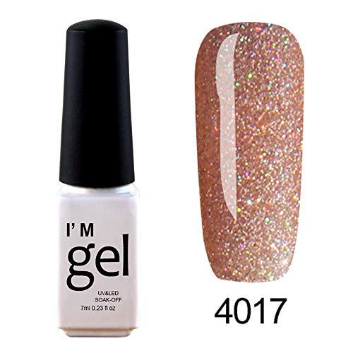 Berrose 1 stück 7ml glänzende nagellack nail art nagelgelpoliermittel uv led gelpoliermittel Star...