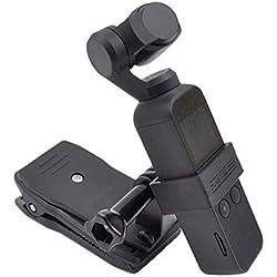 Haludock STARTRC OSMO Pocket Pocket Camera de Poche stabilisateur d'extension de Corps d'accessoires Support + étagère à Dos