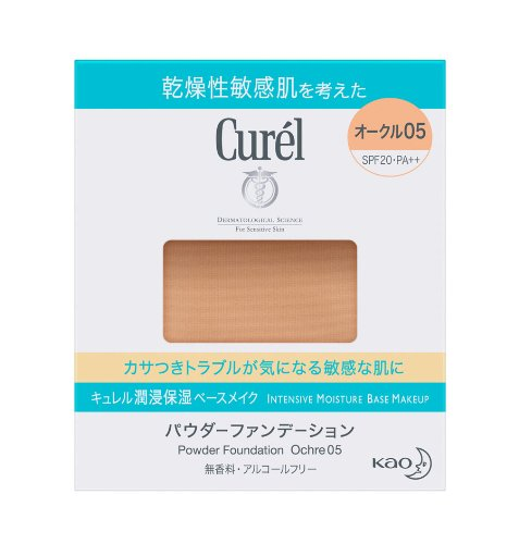 Kao Curel | Makeup Foundation | Powder Foundation Ochre05 11g (japan import)