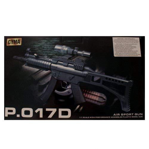 Schnooridoo Softair Gewehr 6mm Sturm Gewehr mit Zielfernrohr