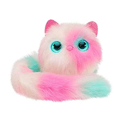 Aolvo Plush Interactive Toys Lovely Cat Toys Talking and Playing Electronic Pet Toys, Pink