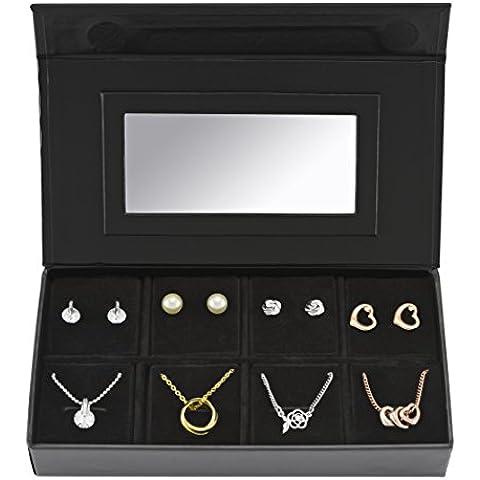 Pierre Cardin pxx0173t da donna placcata in oro e argento collane e orecchini (Maglia Degli Orecchini In Oro Orecchini)