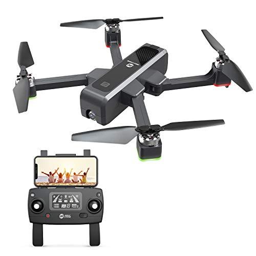 Holy Stone HS550 FPV GPS Drohne mit 2K Kamera HD 5G WLAN Live Übertragung, Faltbar Quadcopter ferngesteuert mit Follow me,Lange Flugzeit,WiFi APP Handy Steuerung,brushless Motor klappbar Foto Drohnen
