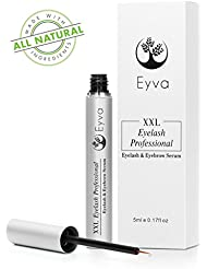 Eyva Eyelash Growth Serum & Eyebrow Serum - Professional Rapid Eyelash Enhancing Boost Formula
