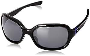Oakley - Lunette de soleil Pulse Ovale  - Homme, Polished Black / Black Iridium